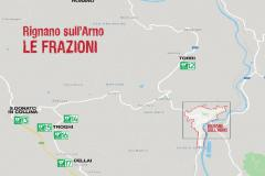 Mappa defibrillatori Rignano sull'Arno (frazioni)