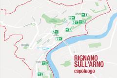 Mappa defibrillatori Rignano sull'Arno (capoluogo)